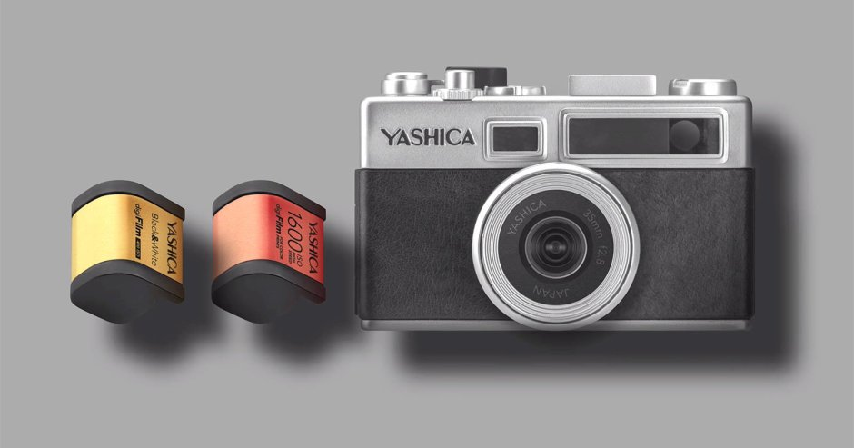 The Yashica Y35 and the DigiFilm cartridges