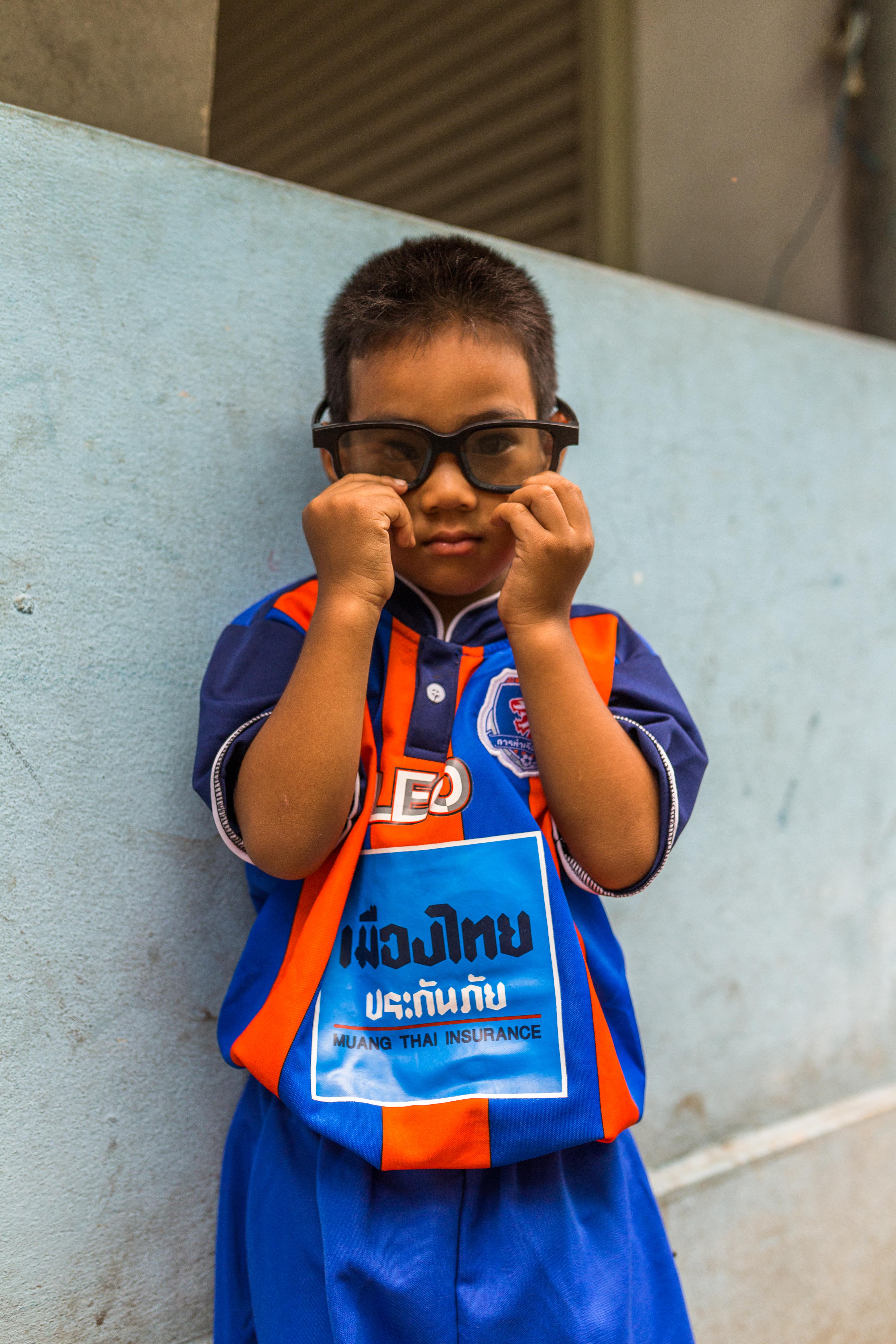 Boy on Klong Toey, Thailand