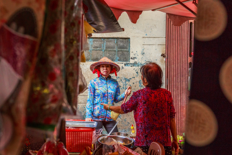 Street Photography in Cholon, Vietnam